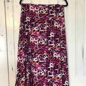 LuLaRoe Maxi Skirt — Like new!!!